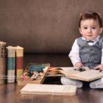 نمونه کار نوزاد با تم دانش آموز