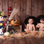 نمونه کار کودک با تم هالووین