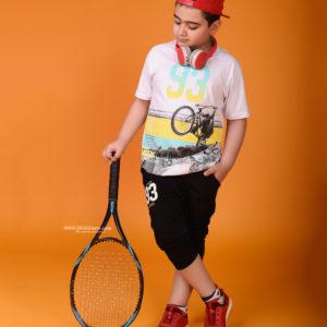 نمونه کار کودک با تم ورزشی